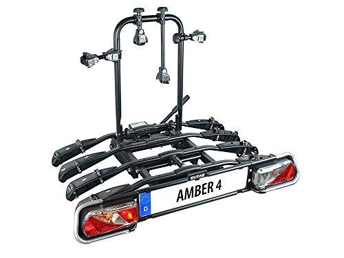 EUFAB 11556 Fahrradträger Amber 4, Black