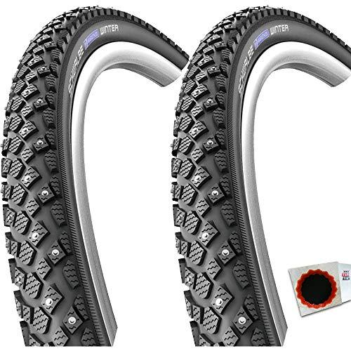 """Schwalbe 2X Marathon Winter Plus SmartGuard Draht Reflex 28x2,0"""" 50-622mm +FL."""