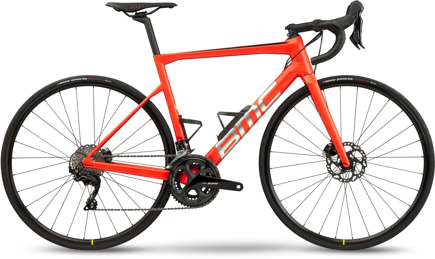 BMC Teammachine SLR FOUR Racing Red & Brushed Silver 2021 58
