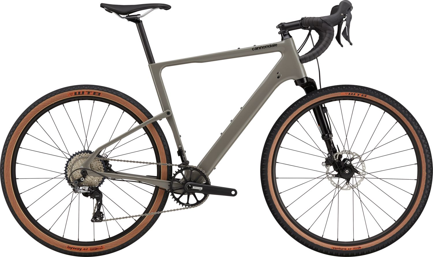 Cannondale Topstone Carbon 3 Lefty 2021 Stealth Grey L